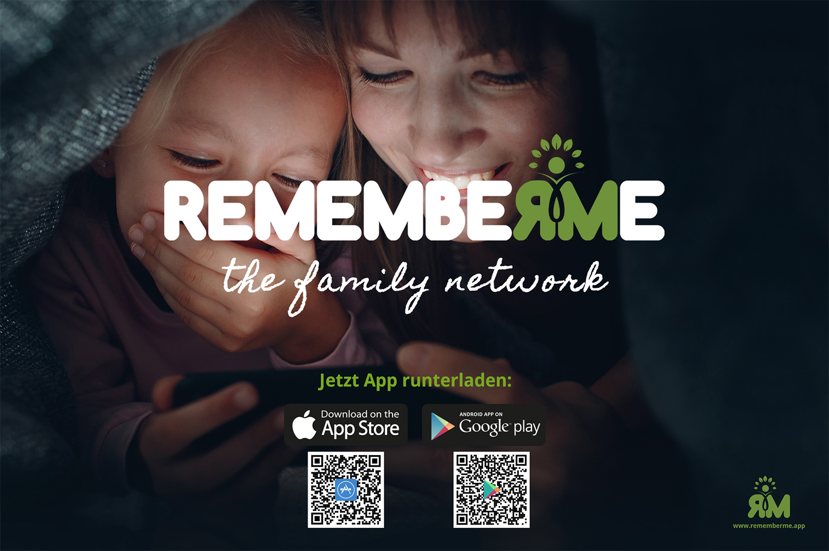 RememberMe Start von Deutschlands erster Familien- und FreundeskreisApp_